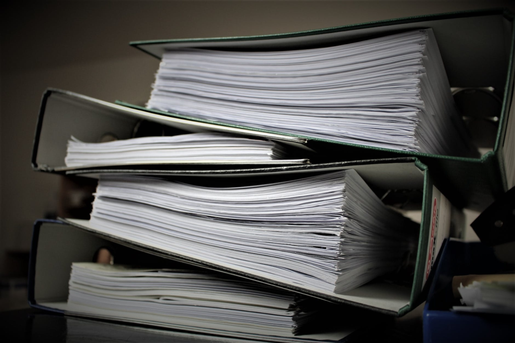 physical documents make more effort to search and use